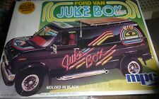 MPC FORD JUKE BOX ECONOLINE VAN VINTAGE 1980 1/25 Model Car Mountain KIT FS 0439