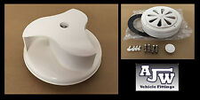 Rotary Wind Driven WHITE Van Roof Vent Mercedes Vito, Sprinter, Universal Fit