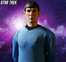 Mezco Star Trek Captain Spock 1:12 Figure Enterprise 1966 Leonard Nimoy One:12