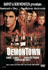 Demontown DVD NUOVO NON SIG E. Cahill, T. Russel, F. Fisher, Poppy Montgomery