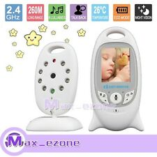 2.4GHz Wireless Digital Video Baby Monitor LCD 2.0 Inch Audio Talk Night Vision