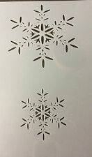 Snowflake Christmas Mylar Reusable Stencil Airbrush Painting Art Craft DIY home