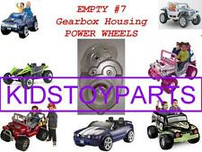 Power Wheels Empty #7 Gearbox housing **Replace YOUR BROKEN #7 BOX! 16T 19T 21T