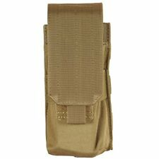New Tan Bulle MOLLE Webbing Rifle Mag Pouch for 2x M16, 1x AK, 1xG36