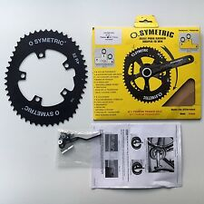 Osymetric 52T chainring, 110BCD, 5 bolts