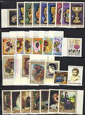 HUNGARY MNH LOT / COLLECTION OF COMPLETE SETS # L2