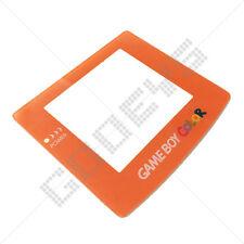 Nuevo Orange Nintendo Game Boy Color Gbc plástico cubierta de la pantalla de reemplazo