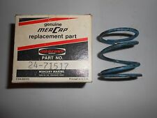 24-71517 NEW VINTAGE MERCURY 340 S/T SNOWMOBILE CLUTCH SPRING LOT A01