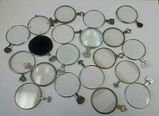 20 piece lot of vintage optical trial lenses optometrist steampunk art