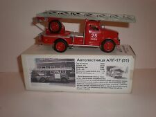 Russian fire ladder ALG-17 on chassis GAZ-51 / 1970's Vector models