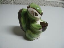 Vintage Squirrel Miniature Cactus Planter Souvenir National Museum Gettysburg PA