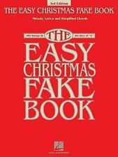 The Easy Christmas Fake Book: 100 Songs in the Key of C (Fake Books)-ExLibrary