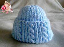 Hand Knitted Premature Baby Hats