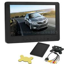 "Portable 7"" TFT LCD Color HD Monitor Screen VGA BNC Video For PC CCTV C/DVD N0J2"