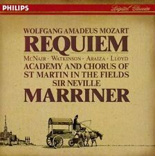 Mozart: Requiem [1990 Recording] (CD, Feb-1991, Philips)