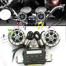 MP3 Speakers Radio Audio Stereo for Harley Dyna Wide Super Glide Street Fat Bob