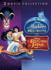DISNEY ALADDIN AND THE KING OF THIEVES & THE RETURN OF JAFAR 2 - MOVIE BLU-RAY