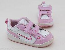 Sneaker Nike Sportschuhe Freizeit Halbschuhe Klettverschluss weiß, rosa Gr. 25