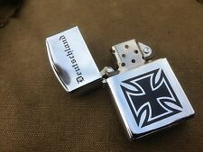 GERMAN ARMY IRON CROSS BUNDESWEHR ZIPPO SYSTEM FIELD LIGHTER