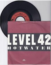 "Level 42, Hot Water, G/VG,  7"" Single 1000-6"