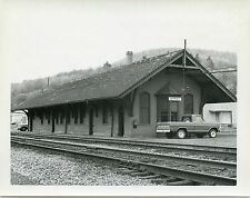 6C653 RP 1968 ERIE RAILROAD TRAIN STATION DEPOSIT NY