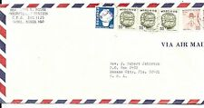 Korea Air Mail Cover-Seoul to Florida