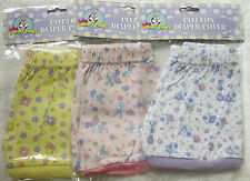 Baby Looney Tunes Girl's Cotton Diaper Covers Infant Shorts Lot of 3 Tweety Bugs