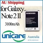 Li-ion Mobile Battery Replacement for Samsung N7100 Galaxy Note 2 II 3100mAh