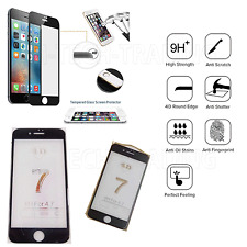 Full iPhone 7 4D Temper Glass Lcd Screen Protector For Apple iPhone 7 -BLACK