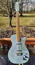 Danelectro 56 U2 1st reissue in Blue Suede electric guitar