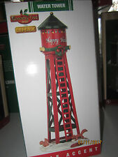 "TRAIN GARDEN HOUSE VILLAGE CARNIVAL  "" The OLD WATER TOWER "" +DEPT 56/LEMAX info"