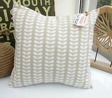 CUSHION COVER ORLA KIELY TINY STEM CLOUD PEBBLE GREY CLAY MULTISTEM LINEAR CLAYE
