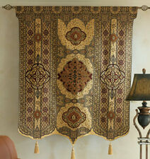 """Moroccan Style Fine Art Tassel Tapestry Wall Hanging Cotton Woven 54"""" x 69"""""""