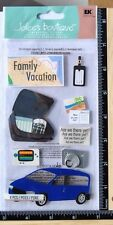 Jolee's FAMILY VACATION Boutique Stickers ROAD TRIP MAP CAR CAMERA TRAVEL