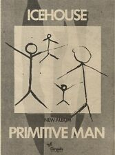 2/10/82Pgn50 Advert: Icehouse New Album primitive Man 7x5