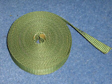 Army Green Nylon Webbing. 20mm Wide. Army Green. 6 meters. Webbing Strap.
