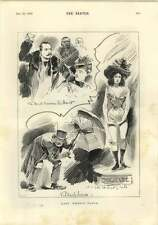 1893 Paris Bomb Thrower Vaillant Emilienne Sketches