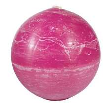 Cherry Scented Ball Candle - Handmade in South Africa - Fair Trade