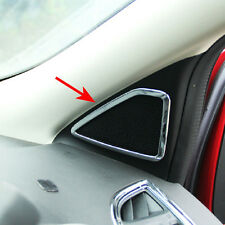 FIT FOR 13- FORD ESCAPE KUGA CHROME DOOR STEREO SPEAKER A PILLAR COVER TRIM 2017