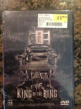 WWF - King of the Ring 2001 (DVD, 2001)NEW Authentic US Release