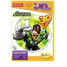 Fisher Price iXL GREEN LANTERN w/ 3D GAME Glasses Included  3-7yrs New