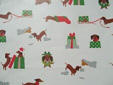 NEW DACHSHUND Christmas LARGE GIFT BAG Party 12.75 x 10 inch Doxie Weiner Dog