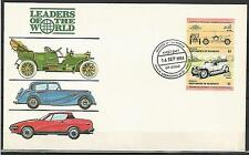 Grenadines of St.Vincent 1984 Autos cars Rolls-Royce Silver Ghost England FDC