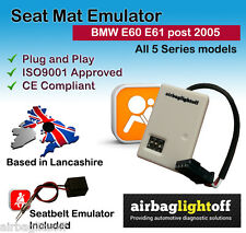 Seat Occupancy Mat Emulator For BMW E60 E61 LCI Models Airbag Sensor Bypass
