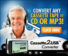 Cassette to USB / convert cassette tapes to cd / mp3 with cassette converter