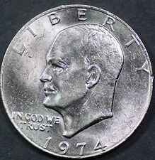 "1974-P Eisenhower Dollar ""Circulated"" US Mint Coin Ike"