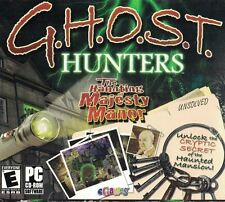 GHOST HUNTERS The Haunting of Majesty Manor PC Game 2007 Aisle 5 Games