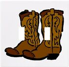 Cowboy Boots Wallplate Wall Plate Decorative Light Switch Plate Cover