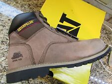NEW CATERPILLAR CAT STEEL TOE WORK BOOTS MENS 10 STYLE: ELECTRIC DRIFTED