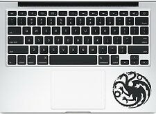 Thrones House Targaryen Dragon for Macbook Trackpad laptop Car Decal Sticker
